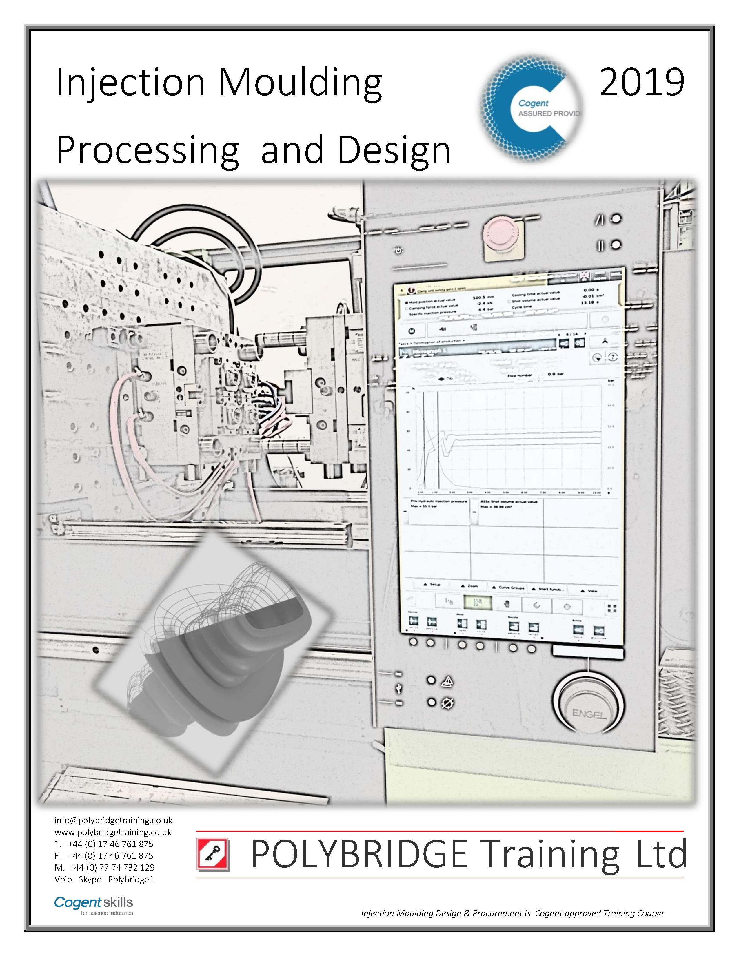 Injection Moulding Processing & Design: 3 Day Course!